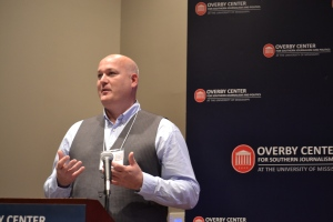 Espen Tollefsen, CEO Interpress, speaks at ACT 5 Experience, University of Mississippi, October, 2014.